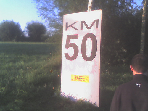 Dodentocht 2008 50km Steenhuffel Palm