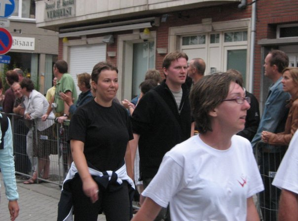 Dodentocht 2008 aankomst