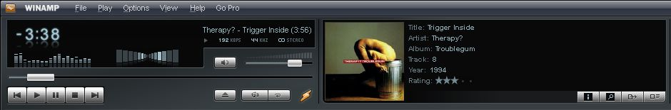 Winamp screenshot 5.601